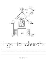 I go to church
