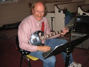 Al on Guitar - UUAC Sherborn