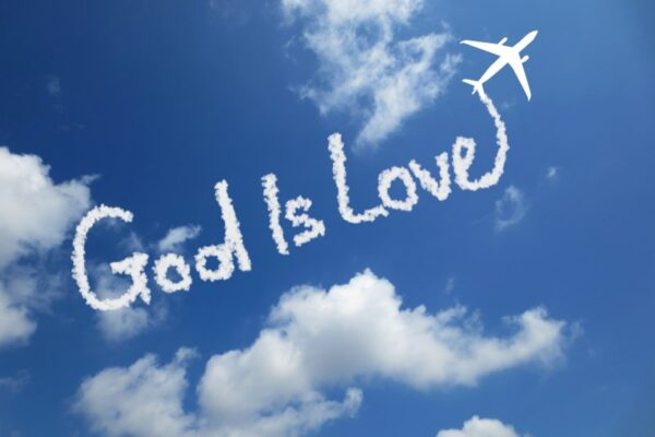 Plane sky wrote God is Love