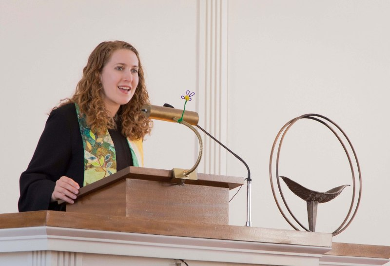 Rev Heather Concannon speaking Easter 2015