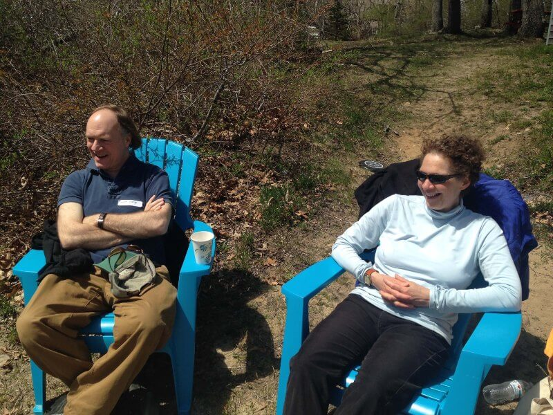 Couple sitting in chairs – Cape Cod 2015