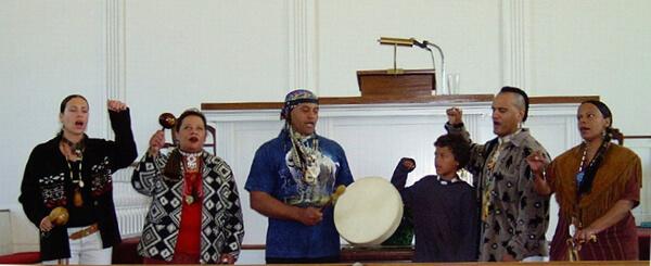 First Parish in Sherborn - Praying Indians